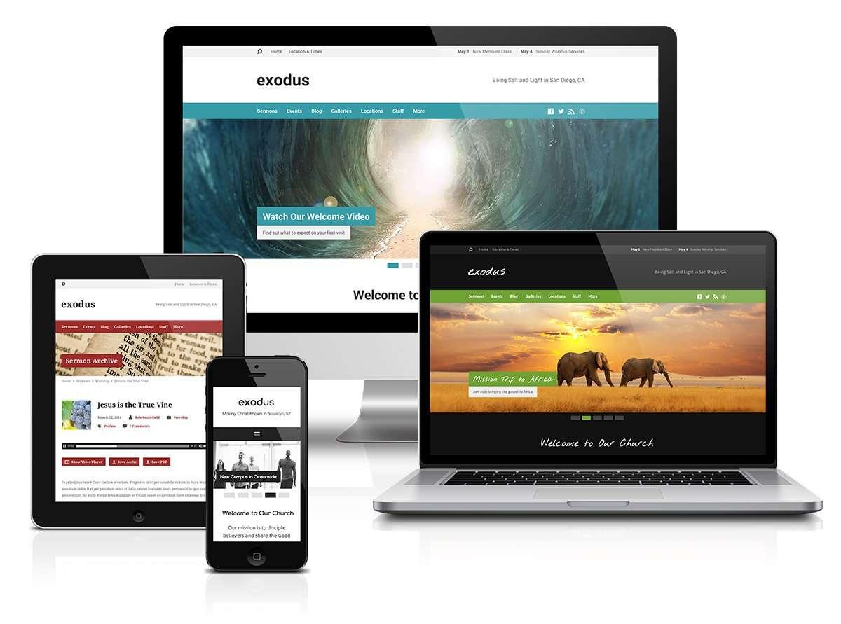 exodus devices Church Websites Church Websites