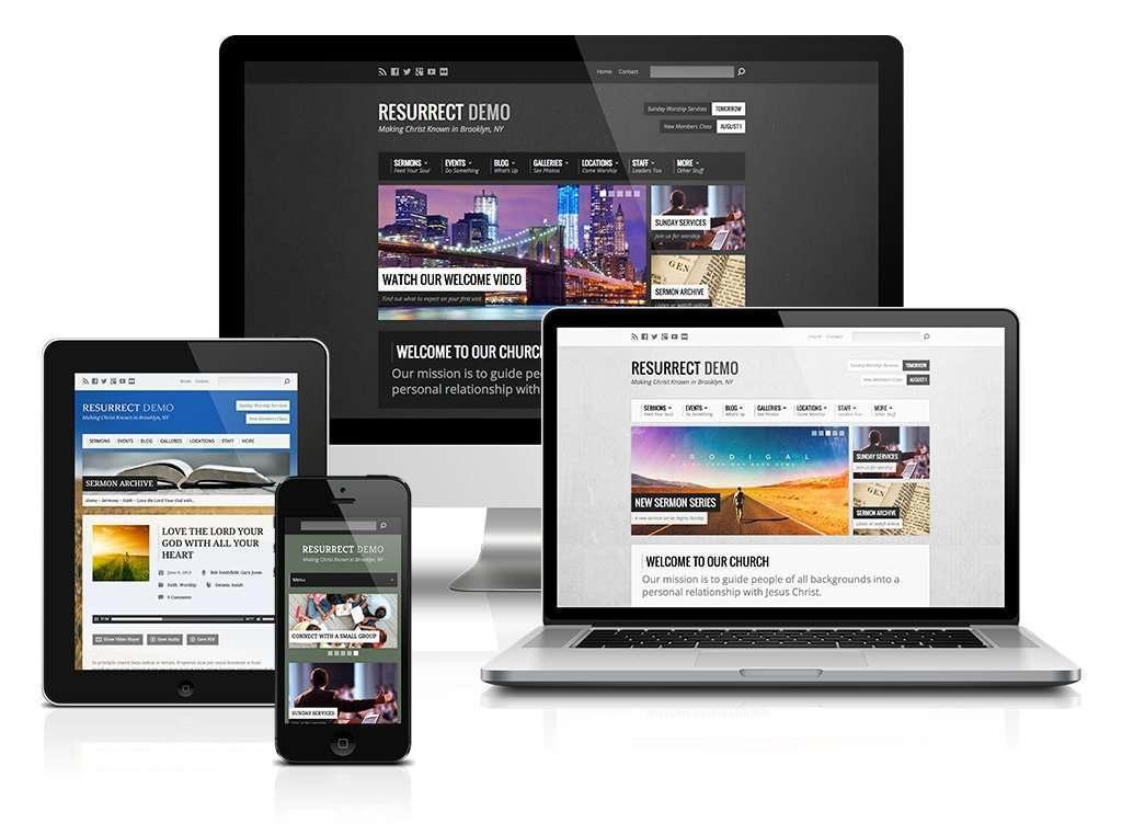 resurrect devices Church Websites Church Websites