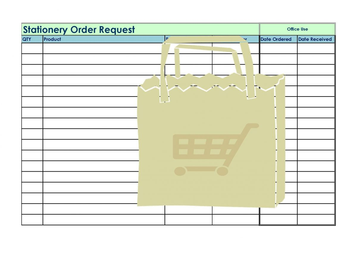 CSA Stationery Request Form
